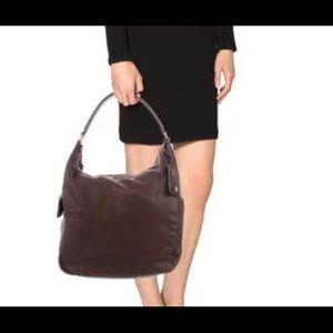 Yves Saint Laurent Brown Hobi/Tote Style Handbag